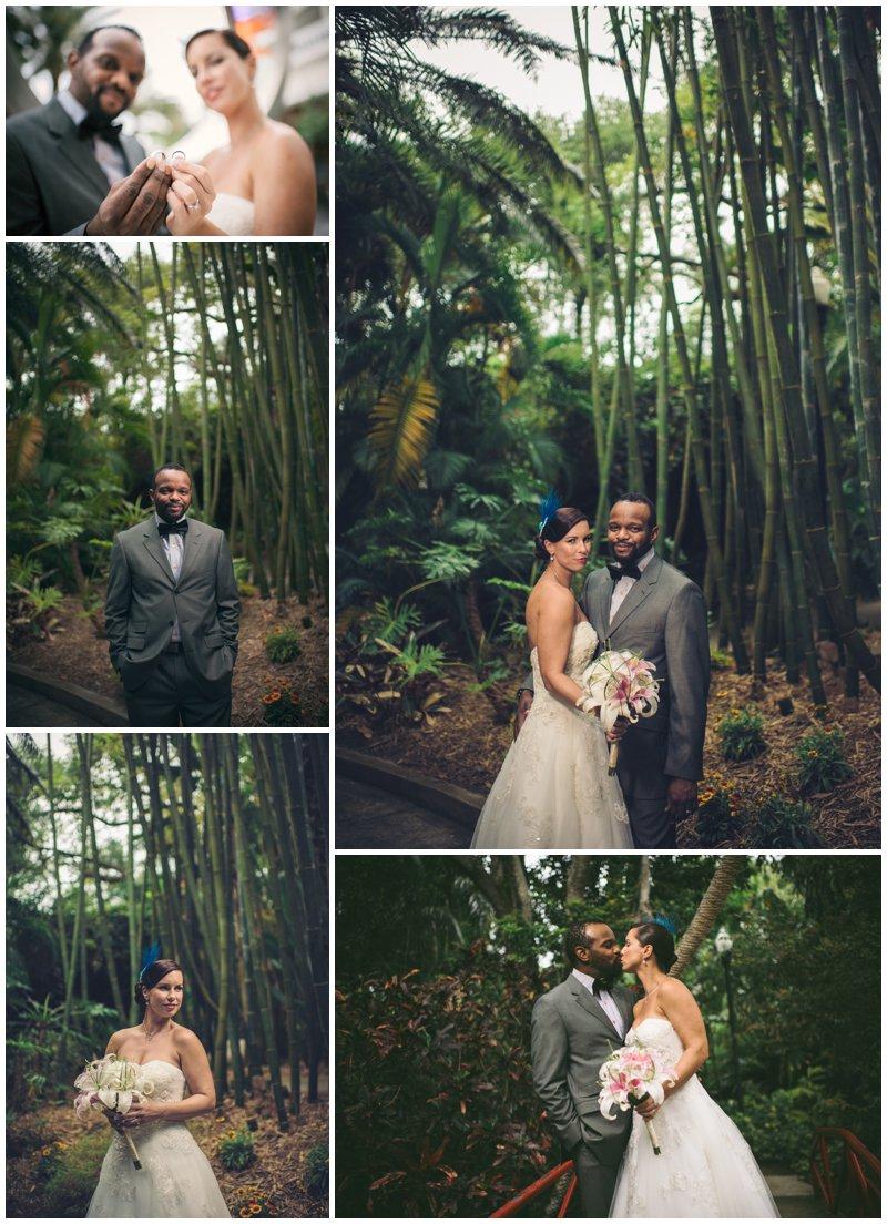 Sunken Gardens Wedding.Andrea Keith Sunken Gardens Wedding Photographer