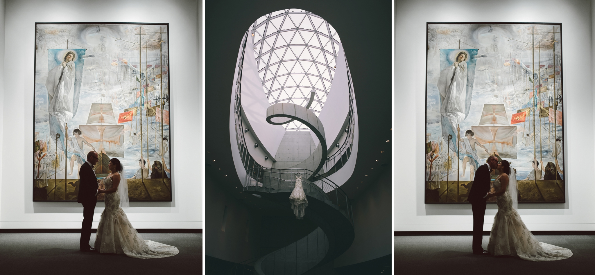 2017 0606 Dali Museum Wedding Photographer Montage2